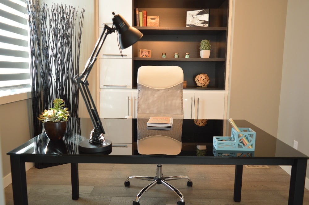 how to get your home office organized